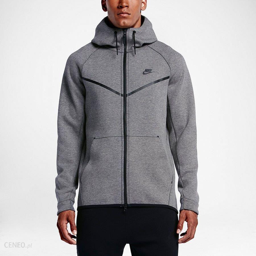 3bad15c07 Nike Bluza męska Sportswear Tech Fleece Windrunner szara r. XL (1562472  091-S