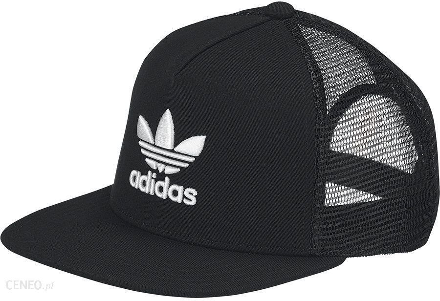02be8881 Adidas Originals Czapka adidas Originals Trefoil Trucker BK7308 BK7308  czarny OSFM - BK7308 - zdjęcie 1