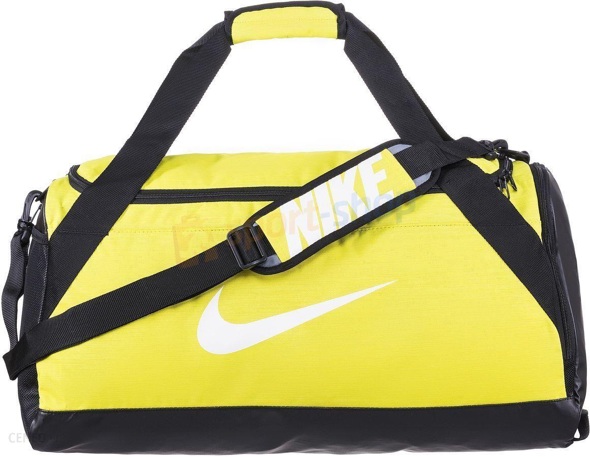 świetna jakość świetne dopasowanie całkiem fajne Torba Brasilia 6 Medium Duffel 61L Nike (żółta) - Ceny i opinie - Ceneo.pl