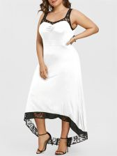 High Low Maxi Party Dress