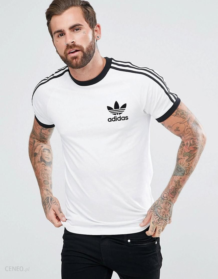 Adidas Originals California T Shirt In White AZ8128 White Ceneo.pl