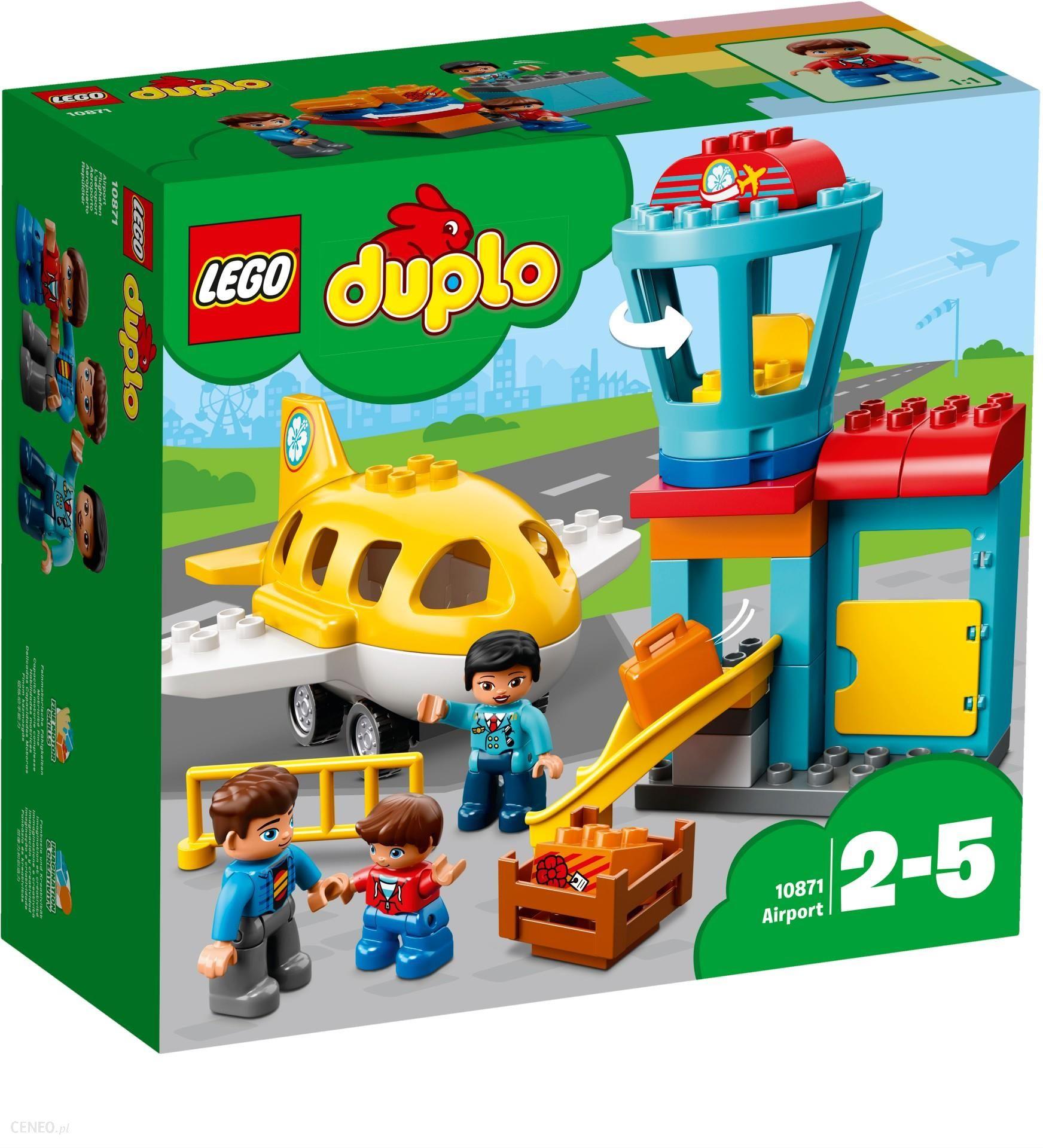 Klocki Lego Duplo Lotnisko 10871 Ceny I Opinie Ceneopl