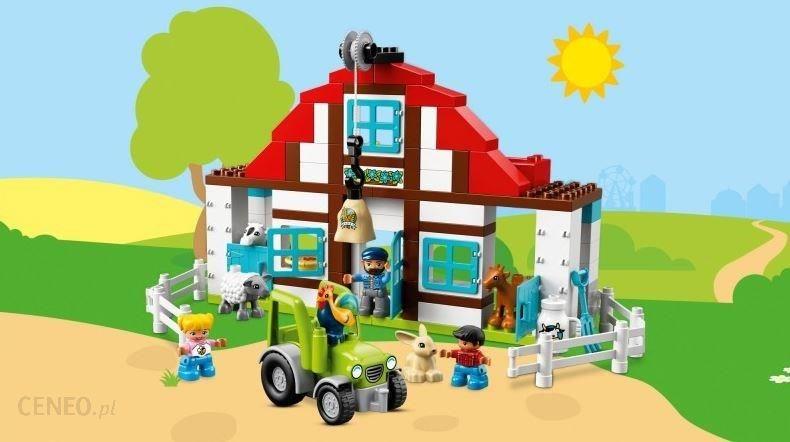 Klocki Lego Duplo Przygody Na Farmie 10869 Ceny I Opinie Ceneopl