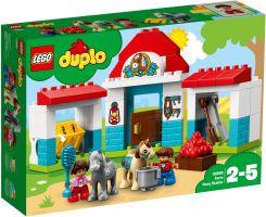 LEGO DUPLO STAJNIA Z KUCYKAMI 10868