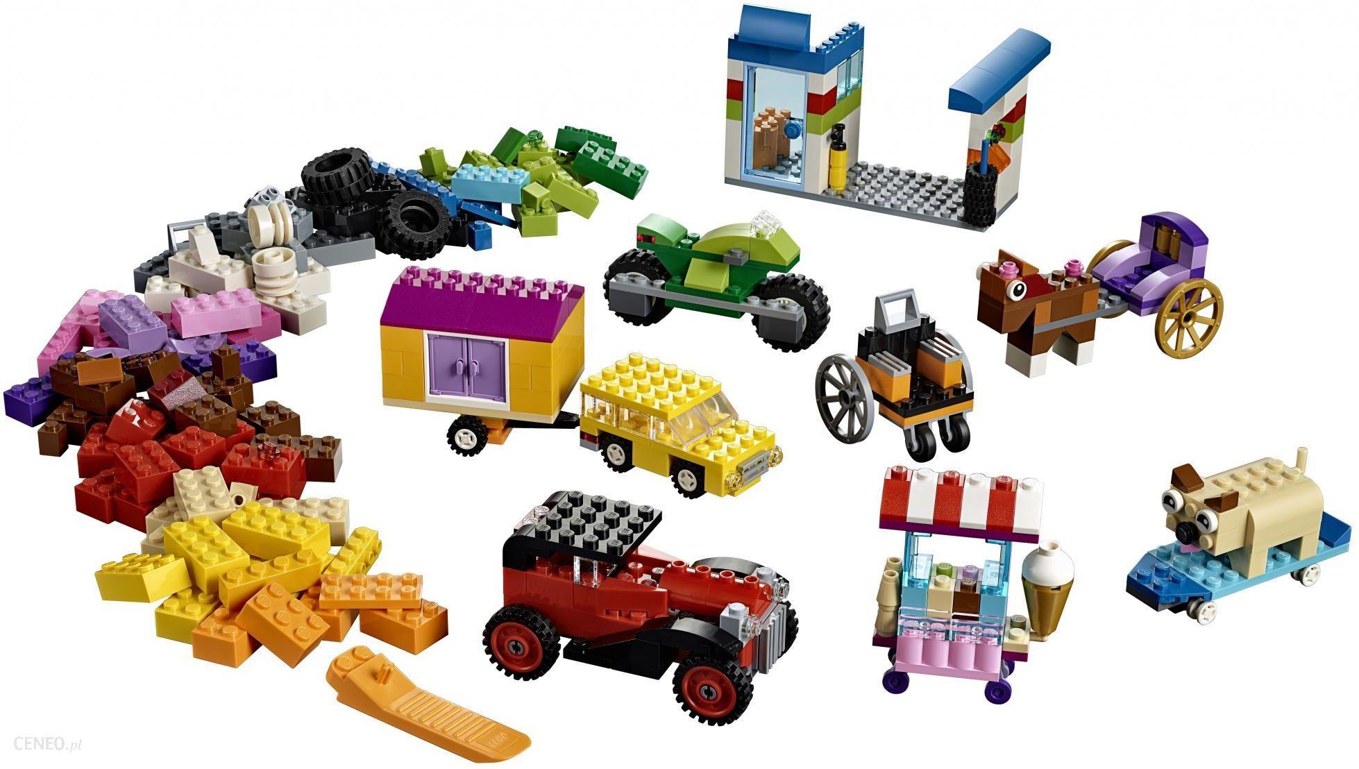 Klocki Lego Classic Klocki Na Kółkach 10715 Ceny I Opinie Ceneopl
