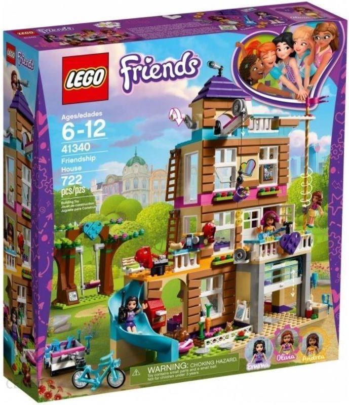 Klocki Lego Friends Dom Przyjaźni 41340 Ceny I Opinie Ceneopl