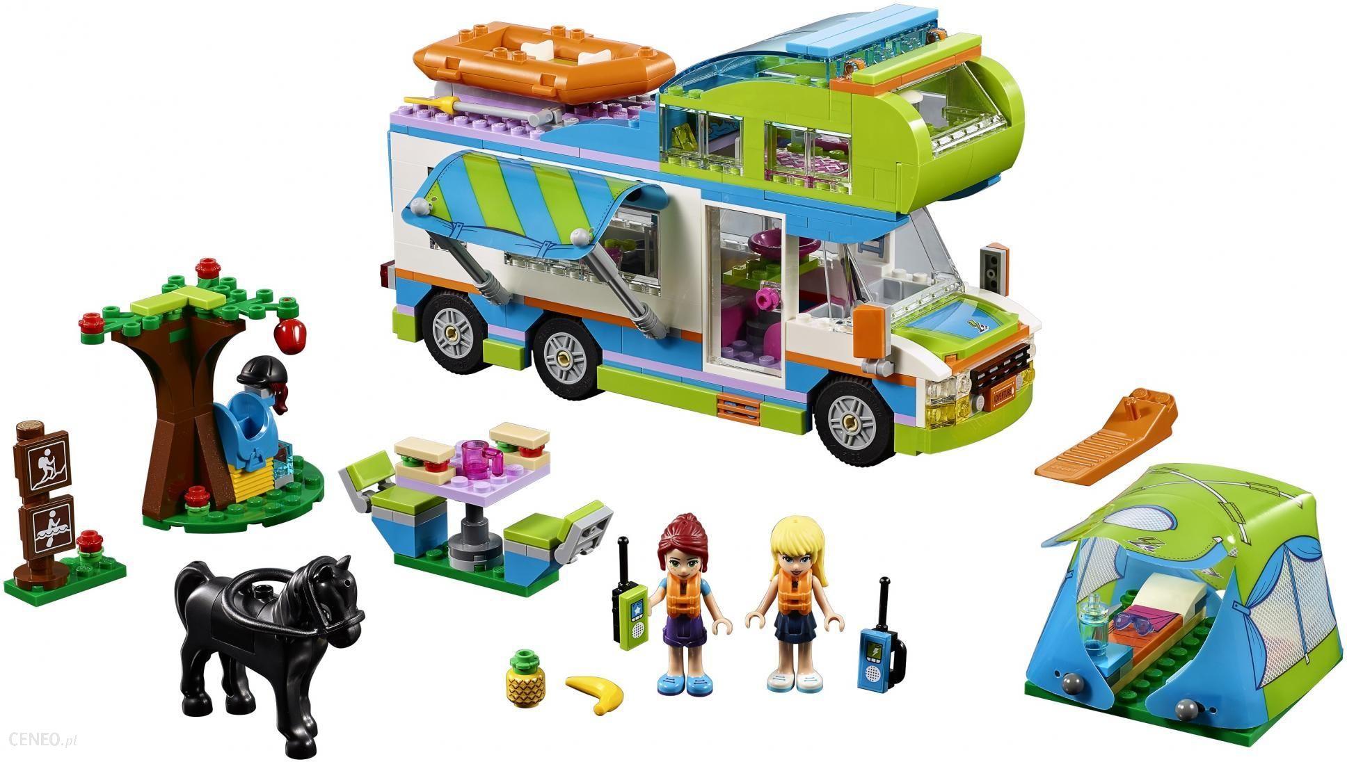 Klocki Lego Friends Samochód Kempingowy Mii 41339 Ceny I Opinie