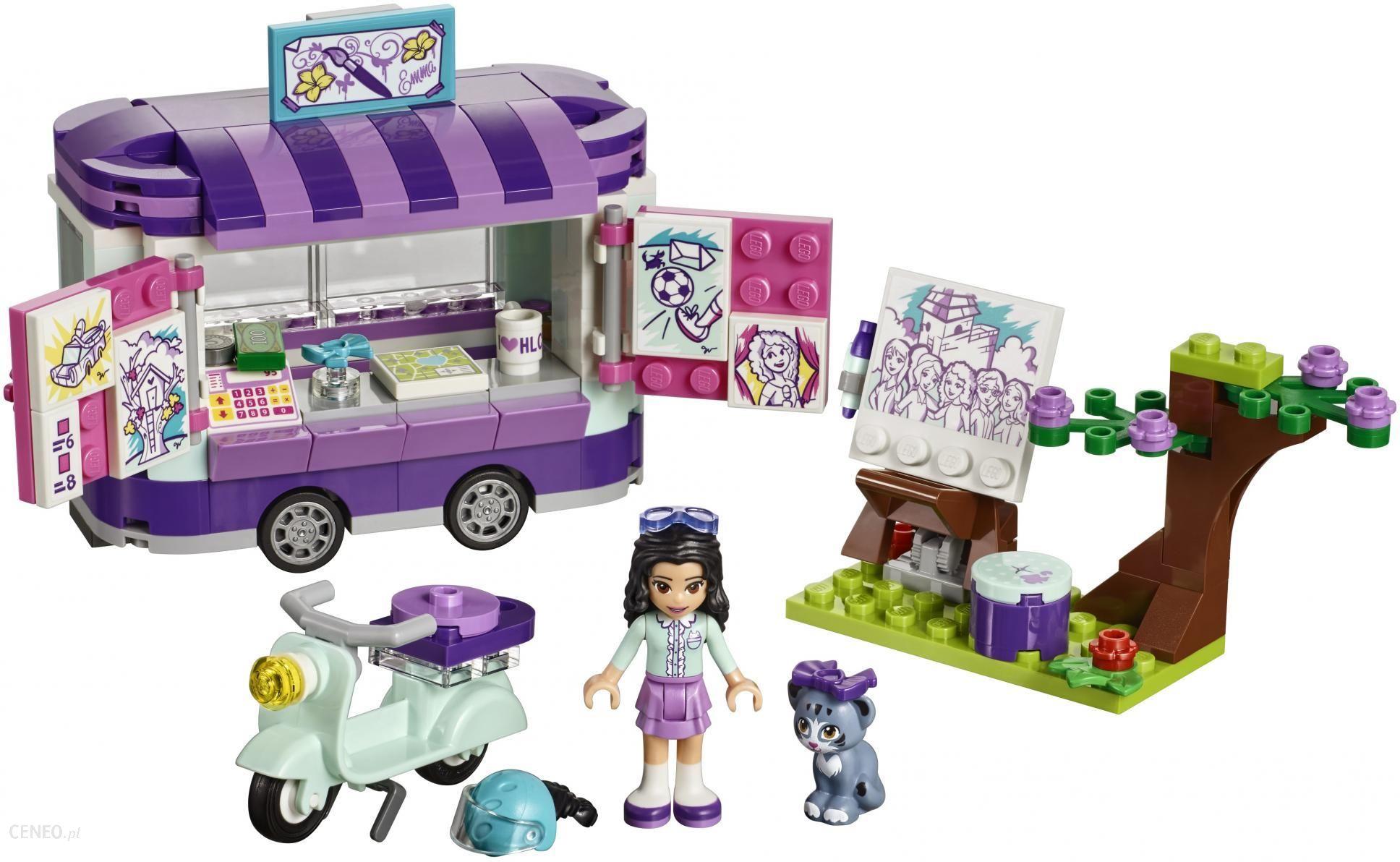 Klocki Lego Friends Stoisko Z Rysunkami Emmy 41332 Ceny I Opinie