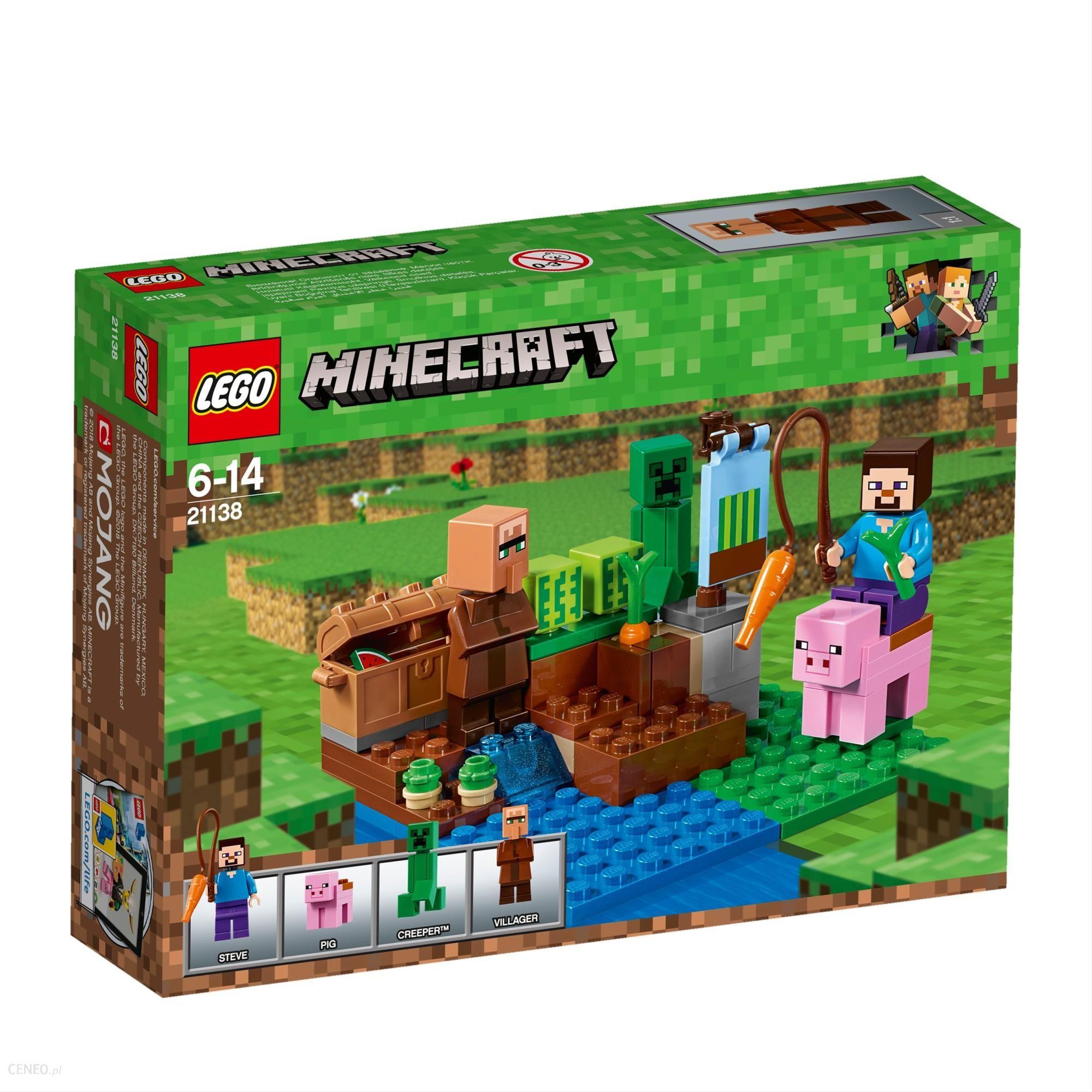 Klocki Lego Minecraft Farma Arbuzów 21138 Ceny I Opinie Ceneopl