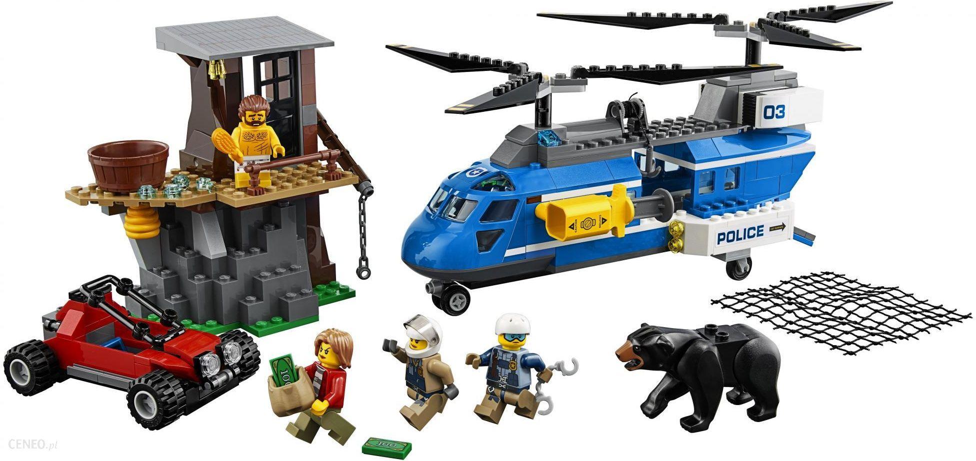 Klocki Lego City Aresztowanie W Górach 60173 Ceny I Opinie Ceneopl