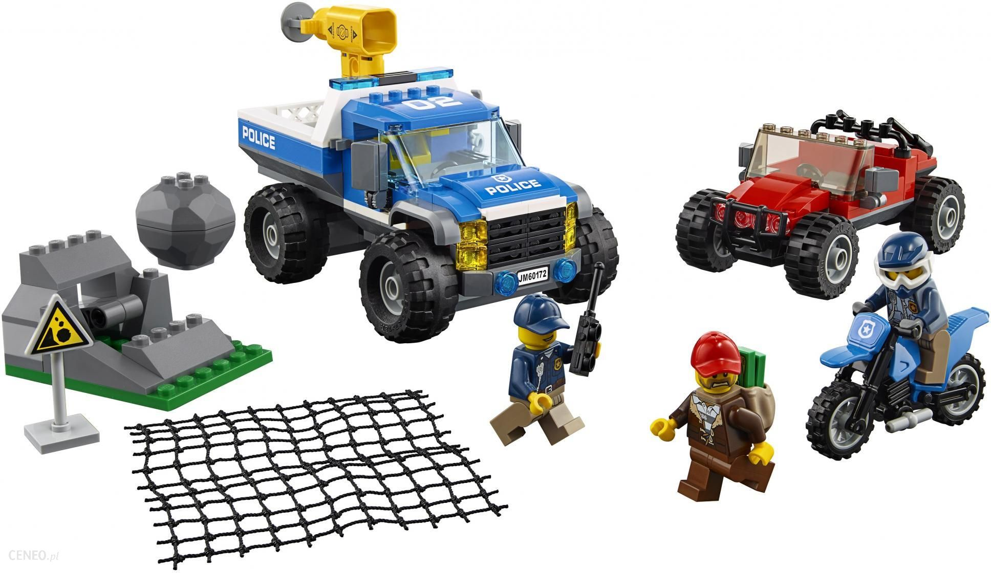 Klocki Lego City Pościg Górską Drogą 60172 Ceny I Opinie Ceneopl