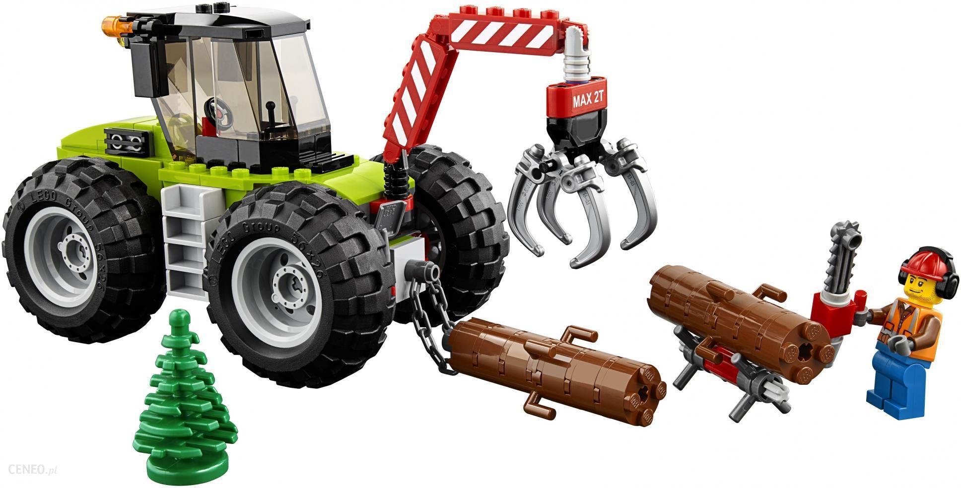 Klocki Lego City Traktor Leśny 60181 Ceny I Opinie Ceneopl