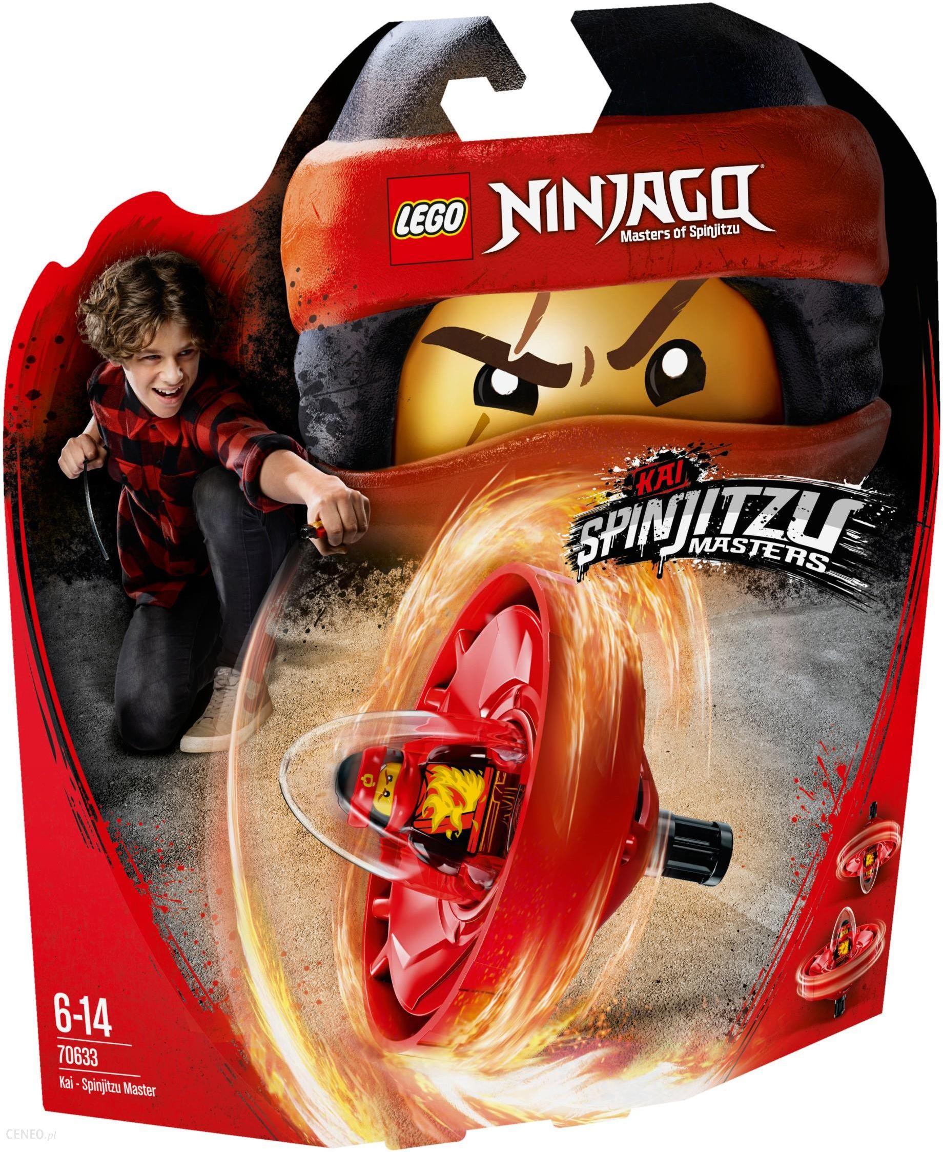 Klocki Lego Ninjago Kai Mistrz Spinjitzu 70633 Ceny I Opinie