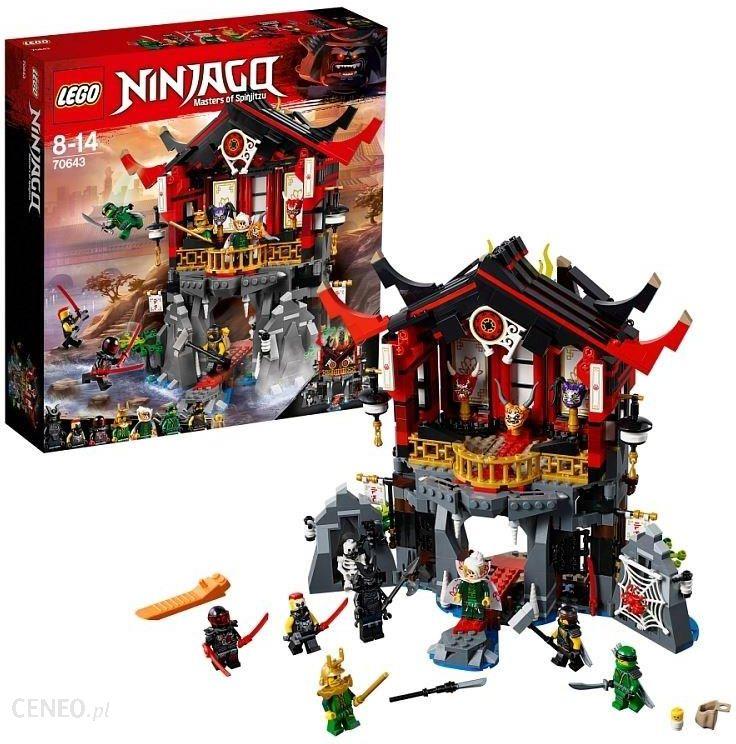 Klocki Lego Ninjago świątynia Wskrzeszenia 70643 Ceny I Opinie