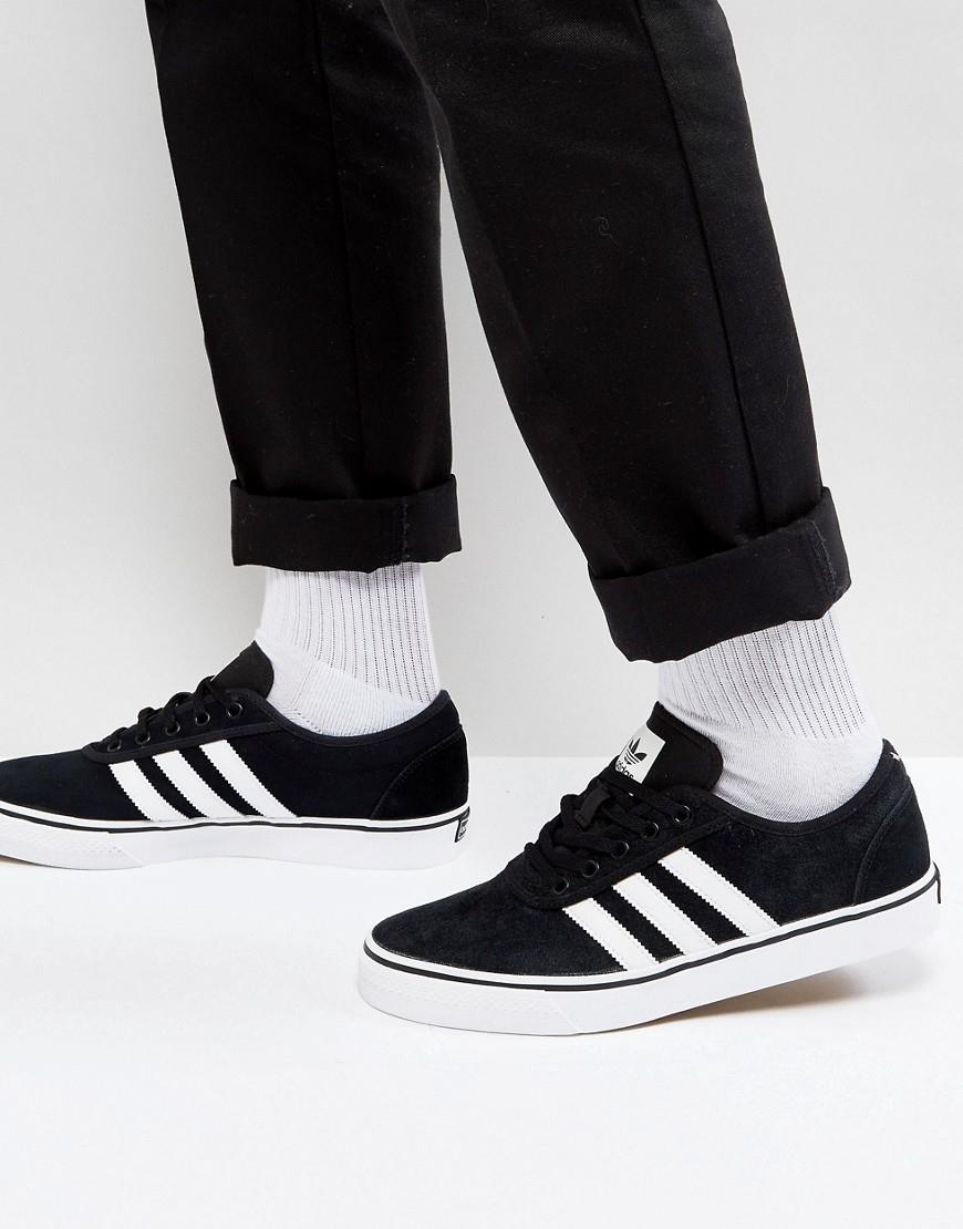 asos.com - adidas Skateboarding Adi-Ease Trainers In Black BY4028 ...