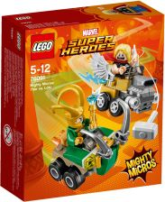 Lego Marvel Super Heros Thor Vs. Loki 76091