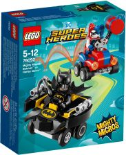 Lego Dc Comics Super Heroes Batman Vs. Harley Quinn 76092