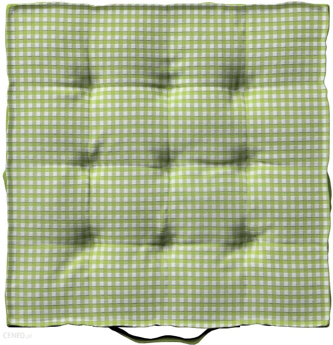 Dekoria Siedzisko Kuba Na Krzesło Quadro Zielono Biała Krateczka 40x40x6 Cm Opinie I Atrakcyjne Ceny Na Ceneopl