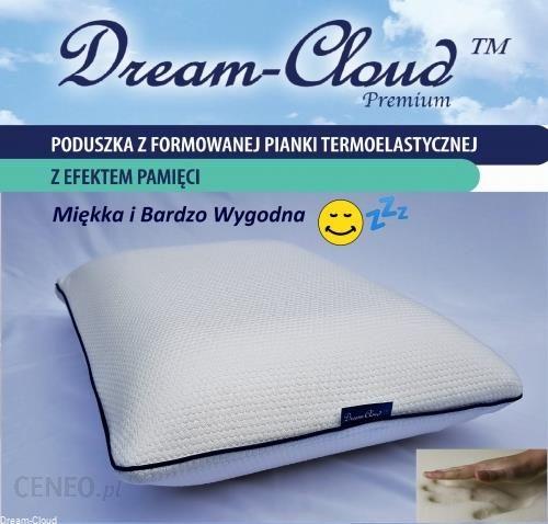 Dream Cloud Poduszka Ortopedyczna Memory Premium 55x35x12cm Dcm2