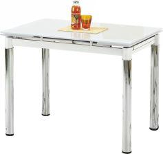 Halmar Stol Rozkladany 96 142x70x75 Logan 2 Bialy Opinie I Atrakcyjne Ceny Na Ceneo Pl