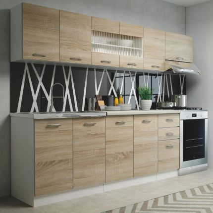 Kuchnia Biała Z Drewnianym Blatem Najlepsze Oferty Ceny