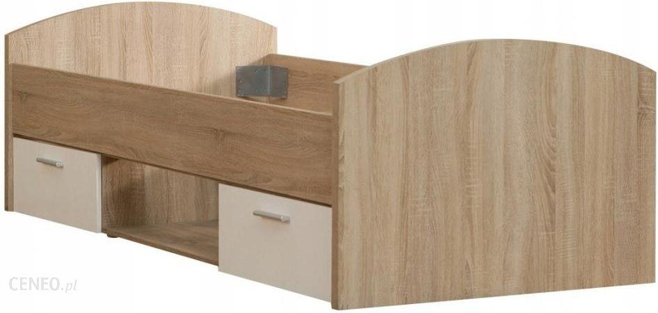Forte łóżko Młodzieżowe 90x200 Wnl09 Q36 Winnie Dąb Sonoma Biały Opinie I Atrakcyjne Ceny Na Ceneopl