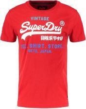 Superdry SHOP TRI TEE Tshirt z nadrukiem stadium red Ceny i opinie Ceneo.pl