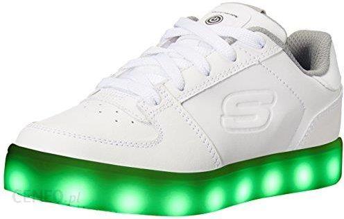 Amazon Skechers chłopcy energy Lights elate szkoleniowców, kolor: biały (biały), rozmiar: 35 Ceny i opinie Ceneo.pl