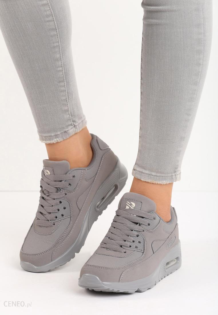 buty sportowe damskie vintage nilda srebrne