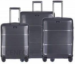 f58b4ef38be90 Komplet walizek PUCCINI zestaw duża + średnia + mała/ kabinowa twarde z  kolekcji VIENNA PC021