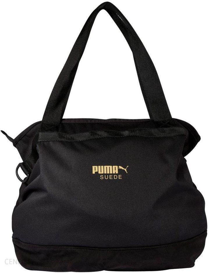 Puma Torba na zakupy black Ceny i opinie Ceneo.pl