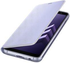 cd13c71045 Samsung Neon Flip Cover do Galaxy A8 2018 fioletowy (EF-FA530PVEGWW ...