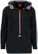 Nike Sportswear TAPED HALF ZIP HOOD POLY Bluza z kapturem blacksail Ceny i opinie Ceneo.pl