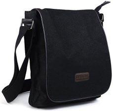 22376950ff Amazon Męskie płócienne eshow czas wolny retro torba na ramię torba na  ramię torba do ręki