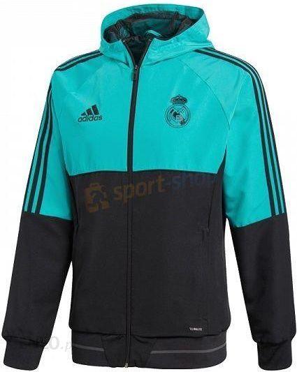 Bluza męska Real Madryt Adidas (czarno morska) Ceny i
