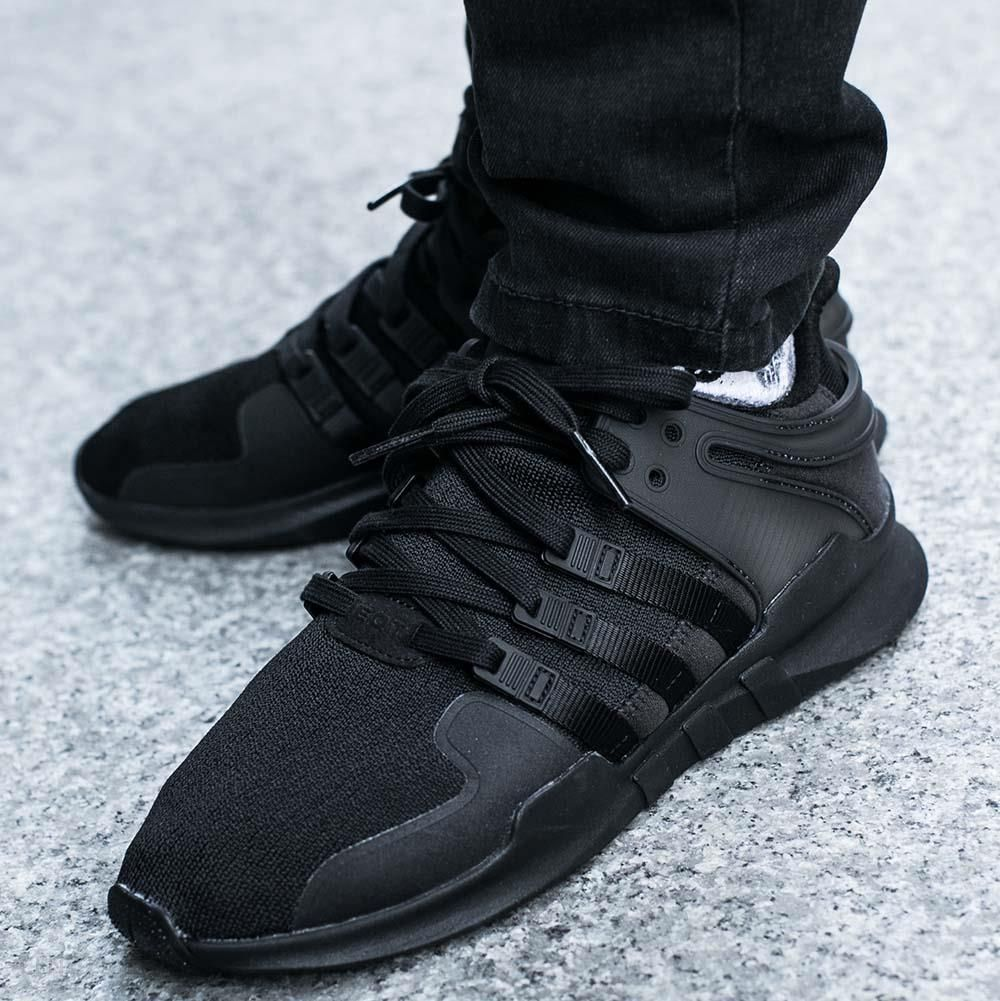 buty adidas czarne support