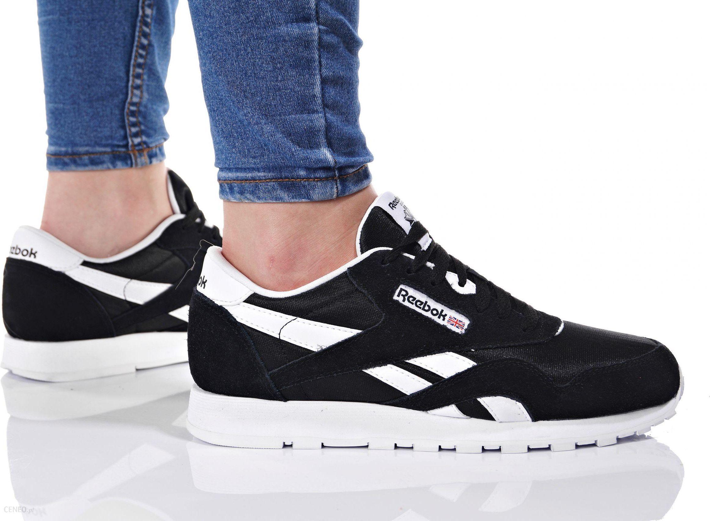 Reebok Buty dziecięce J21506 CL Nylon Buty chłopięce czarne w