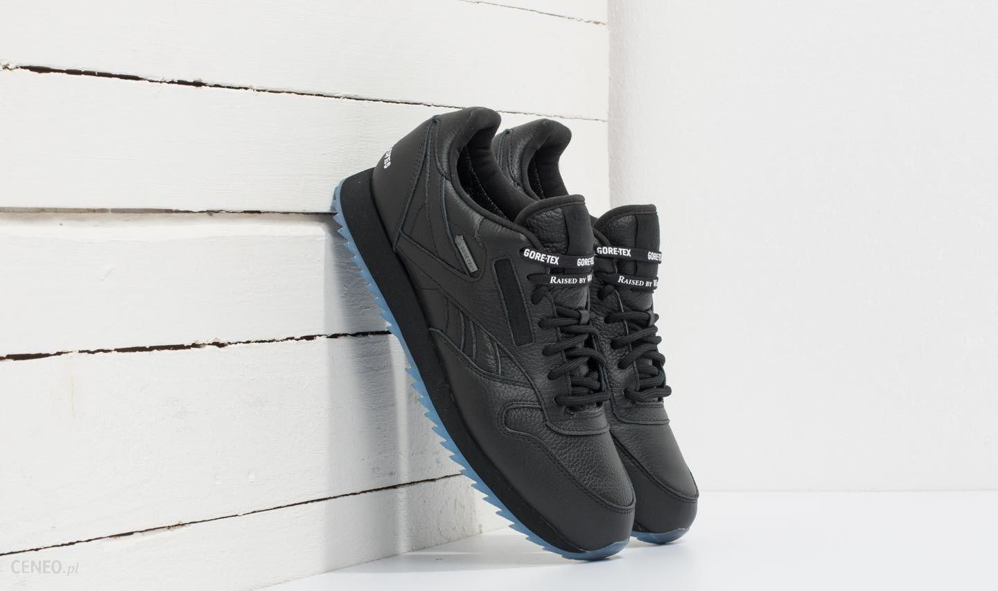 f431c011a9d Reebok x Raised by Wolves Classic Leather Ripple Gore-Tex Black  White-Ice