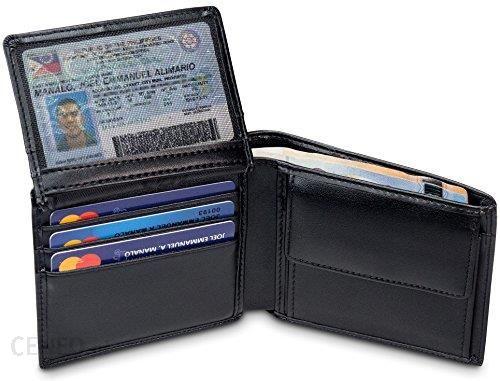 9dafcacd9065a Amazon travando® portfel dla mężczyzn z ochroną RFID