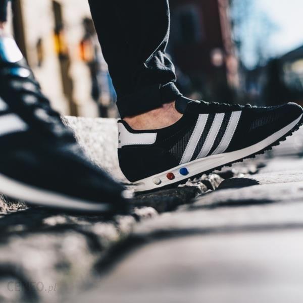 d50c8185e Buty męskie sneakersy adidas Originals La Trainer CQ2277 - CZARNY - zdjęcie  1
