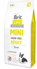 Brit Care Mini Grain Free Adult Lamb bez zbóż 7kg