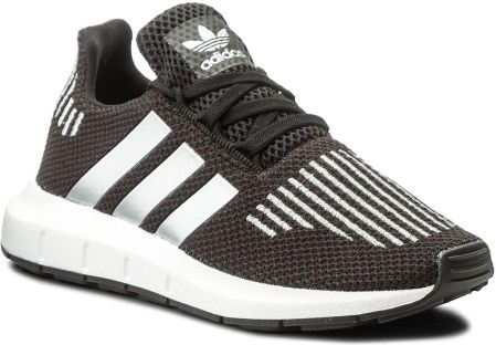 finest selection 39b22 de424 Półbuty adidas - Swift Run C CQ2661 Cblack Silvmt Ftwwht eobuwie
