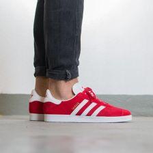 buty adidas gazelle damskie czerwone