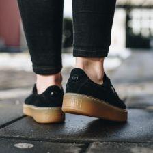 Buty damskie sneakersy Puma Suede Platform Jewel Jr 365131 03 CZARNY Ceny i opinie Ceneo.pl