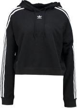Moda Adidas Originals Cropped Bluzy Z Kapturem Damskie