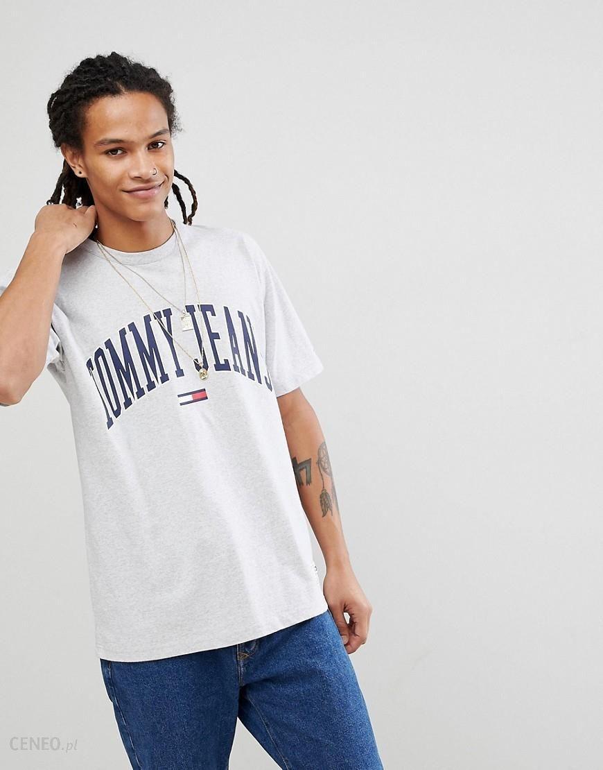 d3a8f38868ec62 Tommy Jeans Collegiate Capsule T-Shirt in Grey - Grey - zdjęcie 1