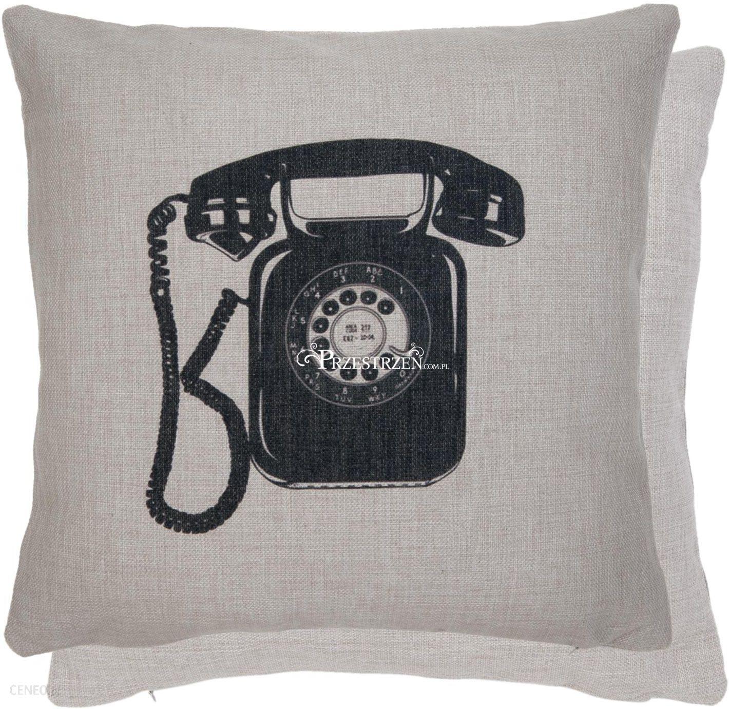 Poszewka Ozdobna Na Poduszkę Clayreeef Stary Telefon 45x45cm