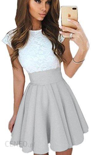 5c887ea6f0 Amazon ecowish sukienka koktajlowa sukienka letnia sukienka koronkowa  damski Odświętna sukienka