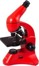 Levenhuk Mikroskop Rainbow 50L Plus Czerwony