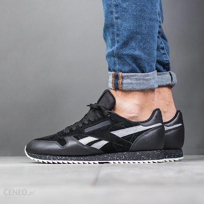 Buty męskie sneakersy Reebok Classic Leather EH2143   CZARNY